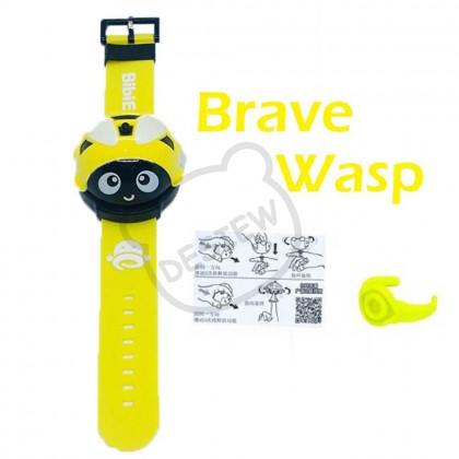Spinning Top Watch Gyro LadyBug Wasp Jam Gasing Toy 手表陀螺 惯性滑行Q车儿童益智玩具