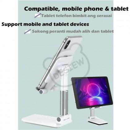 Mobile Phone & Tablet Foldable Stand Mount Universal Adjustable Phone Holder Pemegang Telefon