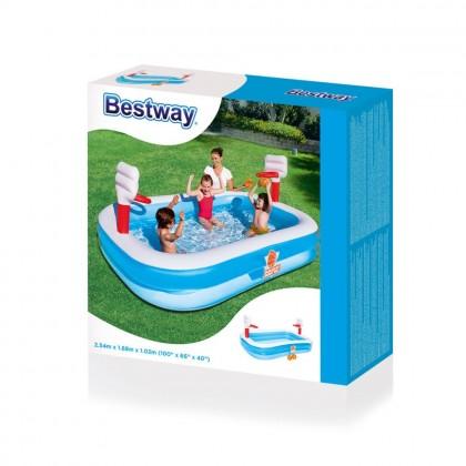 Bestway Basketball Pool For Kids Air Kolam Renang Mainan Budak