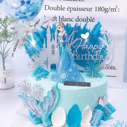 Frozen Cake Topper Elsa Princess Decoration Disney Toy