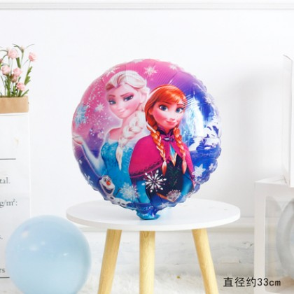 18 Inches Balloon Frozen Elsa Anna Balloon Birthday Party Decoration Helium Cartoon Balloon Theme Party