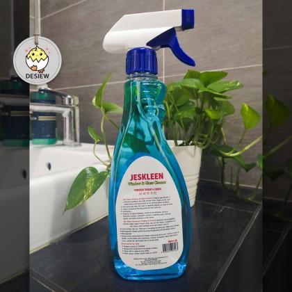 Jeskleen Window & Glass Cleaner 500ml Pembersih Tingkap & Cermin